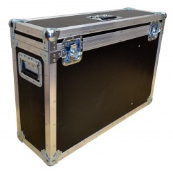 Flight Case for x10 SNELL RCP 2RU and space for Microphones and Headsets