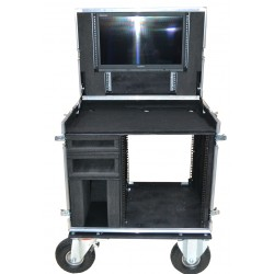 Case for TV Logic Monitor with 2x Black Magic Monitors