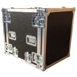 12U Shock Mounted Rack Case 570mm deep