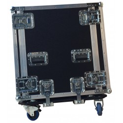 14U Shock Mounted Rack Case 570mm deep