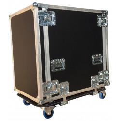 16U Shock Mounted Rack Case 750mm deep