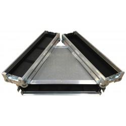 2U Rack Case 255mm deep for Novistar Controller