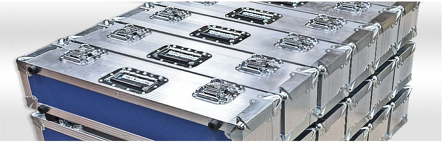 Hybrid Extrusion Cases | Aluminium Flight Case