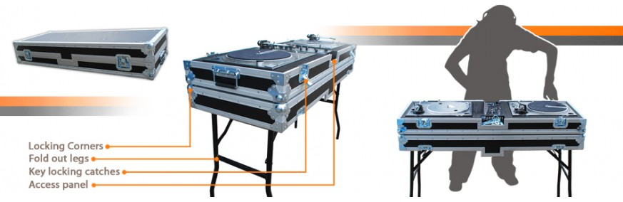 Dj and Music Flight Cases