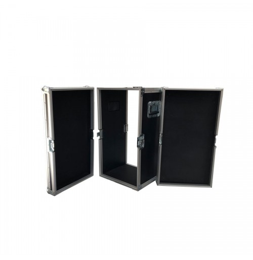 Rack Style Case With Front And Back Removable Universal Lids