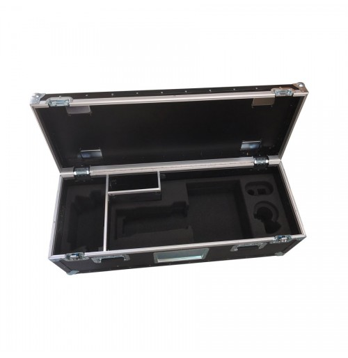 Tray And Lid Style Trunk With Foam Insert And Divider For Sony HXC-100 Viewfinder Camera
