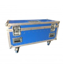 Blue Astraboard Trunk With 10 Laptop Slots and 2 Cable Slots