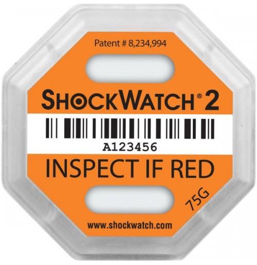 ShockWatch® 2 impact indicators 51000K- 75g