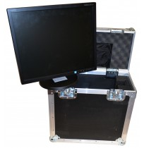 Flightcase for NEC AS222W-BK Monitor