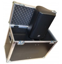 Twin EV ZXA1-90W Active Loudspeaker Flight Case
