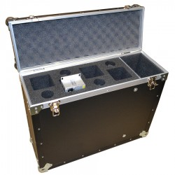 Case for 4x Riedel RCP1028 and 4x mics