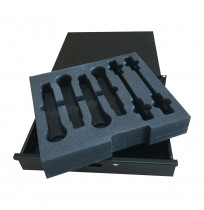Foam Insert for 4 x ULXD2 and 4 x ULXD1 to fit a 2U Rack Drawer