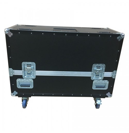 Double Samsung 40 Inch Plasma UE40MU6100K TV Flight Case