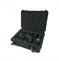 Case and Foam Insert for Belt Pack Transmitter Kit