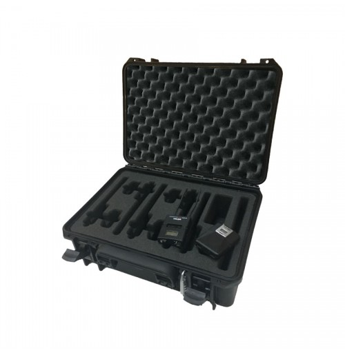 Case and Foam Insert for Belt Pack Transmitter Kit