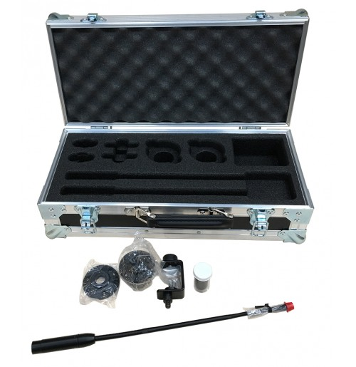 Case for 2x Shure MX412 + A57F Clip