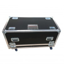 Flight Case for 2  L'Acoustics SB15P Self-Powered Subwoofer With Cable space