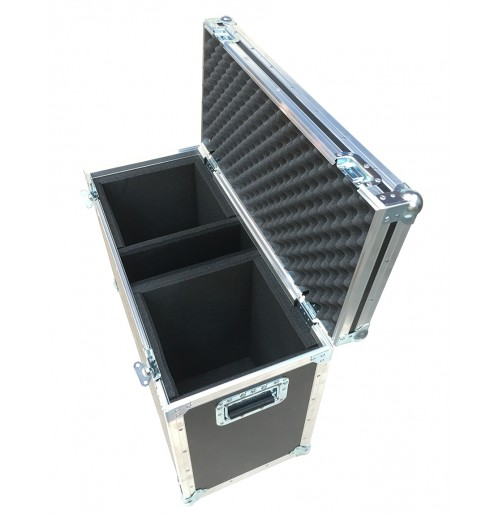 Speaker Flight Case for 2x Yamaha DXR8 Self powered Speakers