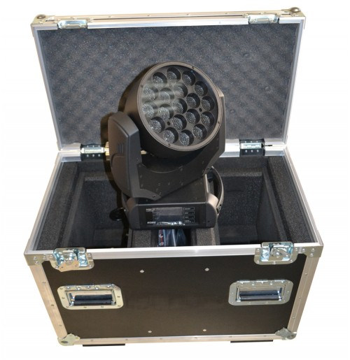 Flight Case for 2x Robe Robin LEDWash 300 + Accesories
