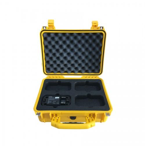 Case And Custom Foam Insert For 4x Profoto B2 Batteries