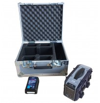Simultaneous Quick Charger VL-4S and 4x Li-ion Battery 190 Flight Case