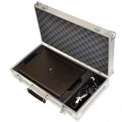 Hybrid Extrusion Laptop Flight Case For Dell M4800