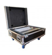 Wheeled Mixer Flight Case For Allen & Heath PA20CP Console