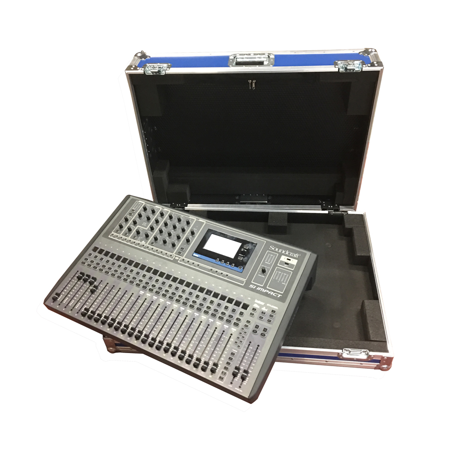 soundcraft si impact digital mixer case. Black Bedroom Furniture Sets. Home Design Ideas