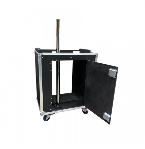 Case For Lighting Desk Trolley With Rack Strip