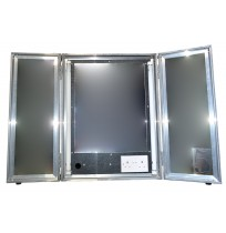 Portable Makeup Mirrors Flight Case