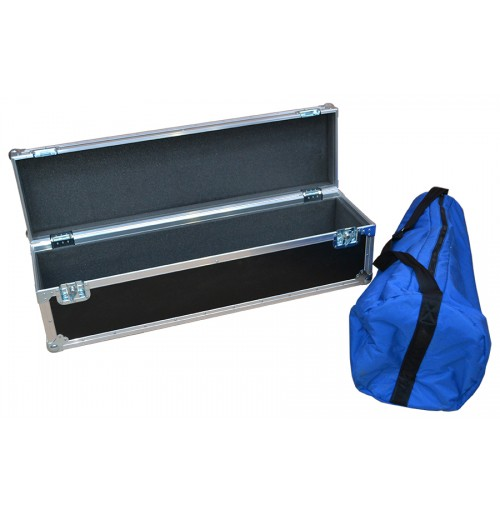 Custom Flight Case for Tripod in Blue Bag