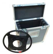 Custom Flight Case for 3 Steering Rings for Sachtler Combi Ped 1-40