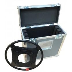 Custom Flight Case for 3 Steering Rings for Sachtler Combi Ped 1-40