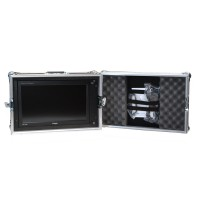 TV Logic LVM-174W 6U Rack Flight Case