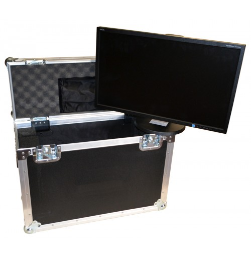 Flightcase for NEC E243WMIBK Monitor