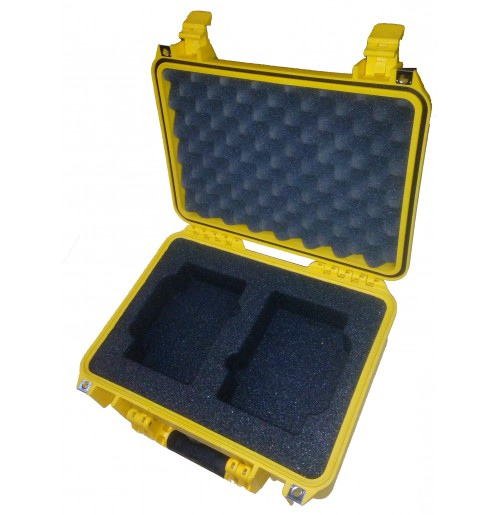 Foam Insert for 2x Broncolor Batteries to fit Peli 1450