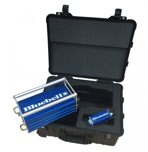 Bluebell Opticom Announces ShaxX foam insert to fit Peli Case 1560