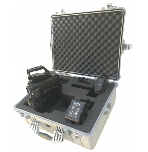Foam Insert for Black Magic Design Ursa Mini 4K Camera Kit to fit Peli 1600