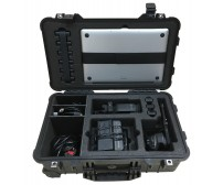 """Case and Foam For Sony PXW-FS7 Accessories and Apple 15"""" MacBook Pro To Fit Peli 1510, Part Of A 2 Case Set."""
