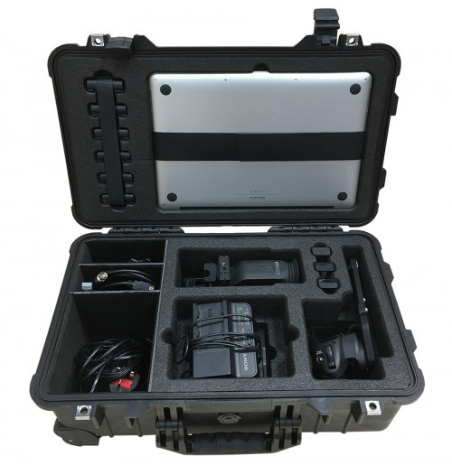 "Case and Foam For Sony PXW-FS7 Accessories and Apple 15"" MacBook Pro To Fit Peli 1510, Part Of A 2 Case Set."
