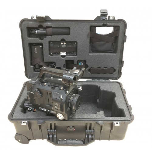 Foam Insert for Sony PXW-FS7 Camera and SmartHD 502 Monitor + Sony A7S2 Camera to fit Peli 1510, Part of A 2 Case Set