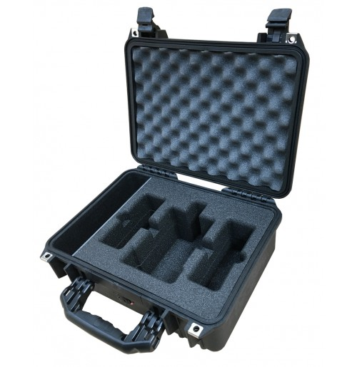 Foam Insert for Hawkwood VL-2X2P Charger, 2x VL90 Batteries and Cable to fit Peli 1450