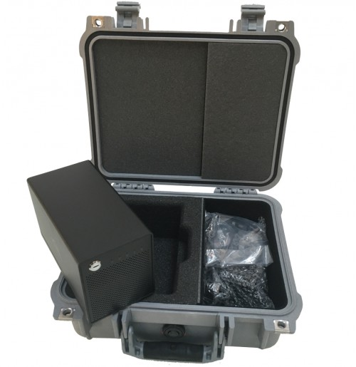 Foam Inserts for Peli 1400 to hold OWC ThunderBay 4 Mini