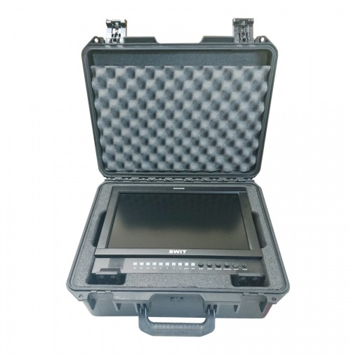 Foam Insert for Swit S-1161H Monitor and cables to fit a Peli Storm IM2450 Waterproof Case