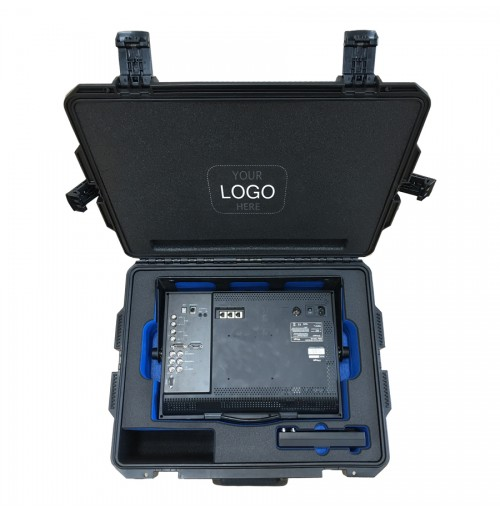 Foam Insert for TV Locic LVM-173W Swit Monitor S-1071C to fit in a Peli Storm iM2700 Waterproof Case
