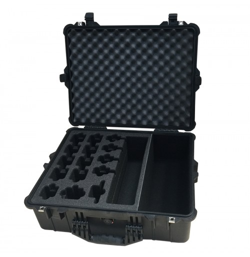 Movi Rig batteries, cables, mounts and accessories foam insert
