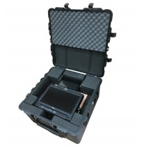 TV Logic and Liliput 10.1 Inch TFT Screen Foam Insert to fit Peli 1640