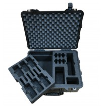 Foam Insert for Kirisun Walkie Talkie kit 6 Way to fit Peli 1560
