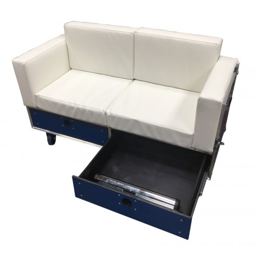 Flightcase Double Seater Furniture