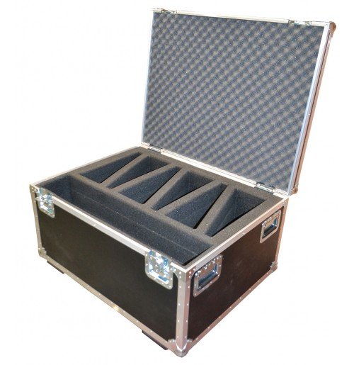 Case for x6 Riedel DCP1016 and space for CSX-11 Commentators Unit